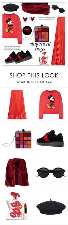 """""""Statement bags..."""" by nihal-imsk-cam on Polyvore featuring Marc Jacobs, Judith Leiber, Prada, Boohoo, Bond No. 9, Element, Disney, polyvoreeditorial, polyvorecontest and statementbags"""