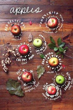 Foto: Qual é sua maçã preferida? ;D  fonte: Free people