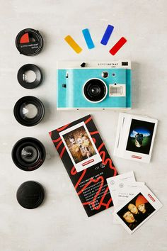 Lomo'Instant Havana Edition Camera. This set is everything I want <3