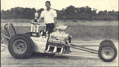 Eddie Hill Pontiac powered Class A dragster ran 8.84 seconds in 1960. He is from Witchita Falls, Texas. Rail 60's