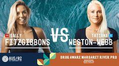 Sally Fitzgibbons vs. Tatiana Weston-Webb - Round Four, Heat 4 - Drug Aware Margaret River Pro (W) #Surfing #サーフィン