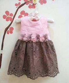 This Sweet Charlotte Pink & Brown Eyelet Dress - Infant, Toddler & Girls by Sweet Charlotte is perfect! #zulilyfinds