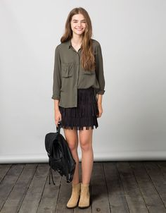 Shirts & Blouses - GIRL - Woman - Bershka Greece