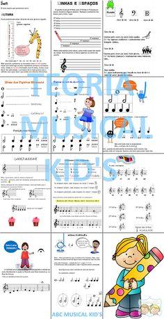 ATIVIDADES DE EDUCAÇÃO INFANTIL  E MUSICALIZAÇÃO INFANTIL: Teoria Musical Kid's