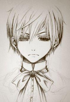 black butler drawing