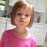 how to hair girl #diy #kid #haircuts