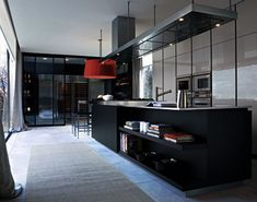 Sleek luxury kitchen