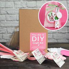 SRM Press Inc. - DIY Craft Kit - Princess Purse Party Favors at Scrapbook.com - Quickly make your own princess purse party favors with this adorable kit!