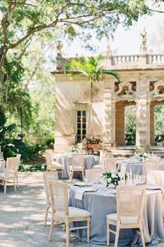 Romantic garden reception inspiration. Photo: @troymeiklephoto