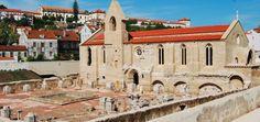 From Lisbon to Coimbra: 10 Reasons to Go - via Lisbon Lux Magazine #Portugal Photo: Santa Clara-a-Velha, Coimbra