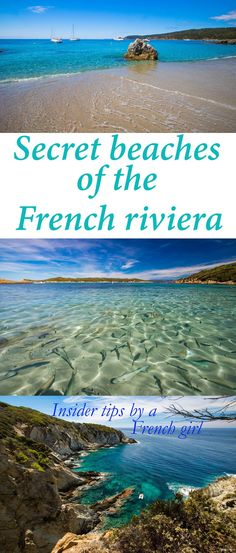 Beach Vacation Destinations : Secret sand beaches of the French Riviera: genuine insider tips to find the best beaches in France! Ultimate Provence tips Places To Travel, Travel Destinations, Travel Tips, Travel Deals, Travel Guides, Nice Ville, Villefranche Sur Mer, Reisen In Europa, Hidden Beach