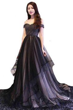 4773fa0603 Women Black Wedding ... Black Wedding Dresses