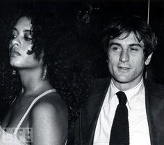 Robert De Niro and Diahnne Abbott, 1976. (m. 1976–1988)