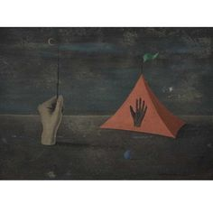 Hand and Tent By Gertrude Abercrombie ,1949