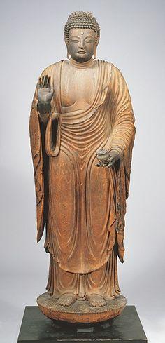 《 薬師如来立像》8世紀末 元興寺