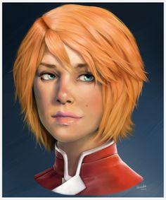 Suvi Anwar. Mass Effect Andromeda