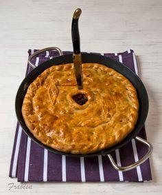La cocina de Frabisa: RECETA: Empanada gallega de mejillones