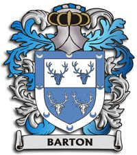 Barton Coat of Arms | Coat of Arms