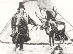 Sami man with reindeer one leg, Sweden. Samisk mann med en fot fra Sverige | Flickr - Photo Sharing!