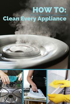Regular deep cleaning of your kitchen appliances will make them work better and last longer. Check out our primer of how to clean kitchen appliances, from the small to the large, here:
