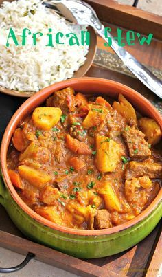 This African beef stew recipe is slow-cooked to develop an unbeatable flavour and meltingly tender texture. The combination of spices used in this hearty stew is what creates a unique taste setting this stew apart from most. Serve as is or with rice