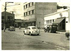 Antes e Depois esquina do Banco Real em 1973