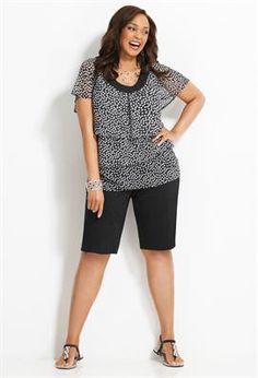 A Bold Contrast | Plus Size Outfits | Avenue