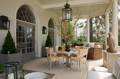 Outdoor Room  TraditionalNeoclassical  Porch by Andrew Law Interior Design