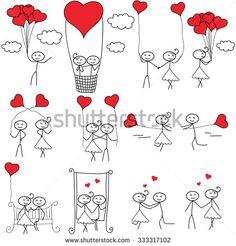 Love Couple Stock Vectors & Vector Clip Art | Shutterstock