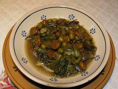 Sud Italia in Cucina: Minestra Primavera