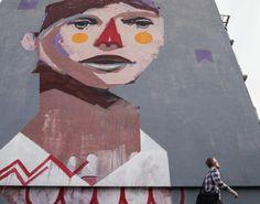 Fassadenmalerei, Westend Impression #Westend #Dortmund