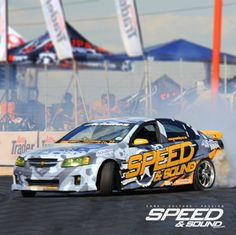 Mikey started the 2014 series in the V8 Lumina