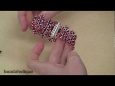 How to Bead Weave a Twin Bead Bracelet Using a Circular Stitch