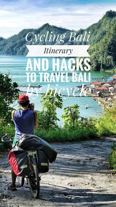First-hand tips and itinerary to ride Bali on a bicycle. Is Bali a suitable destination for bike holidays? Cycling around Bali on a budget off the beaten path Slow Travel, Family Travel, Cycling Holiday, Holiday Travel, Adventure Activities, Bali Travel, Ultimate Travel, Travel Guides, Travel Tips