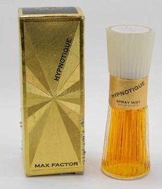 Hypnotique by Max Factor - Vintage Parfum Cologne Spray Mist - Full Bottle in Original Box -  2 Fl Oz by QueeniesCollectibles on Etsy