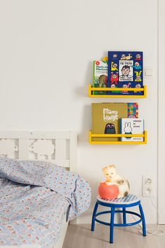 mommo design: IKEA HACKS - Bekvam spice rack painted yellow