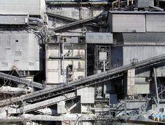 奥多摩工業を正面から見下ろす