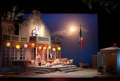 Cosi Fan Tutte. Maryland Opera Studio. Scenic design by Misha Kachman.