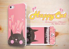 Happy Cat Case designed for Apple iPhone 5 #happy #cat #pet #appleiphonecase #iphone5case #DesignerCase #UltraCase