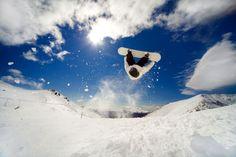 Skiing world record backflip attempt