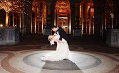 Post-Ceremony: Bride & Groom. Courtyard