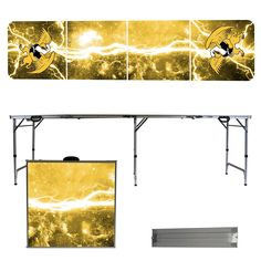 Missouri Western State Griffons 8 Foot Portable Tailgate and Pong Table