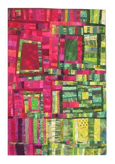 """Now & Not Yet"" by Adriene Buffington.  Art Quilts XVII exhibit, 2012"
