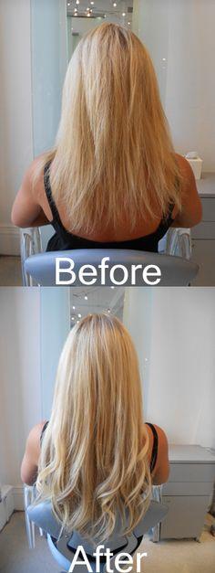 Rapture Hair Extensions.