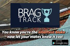 Brag Track – the App that lets your friends know you KNOW Football. #football   #footballfun #BragTrack