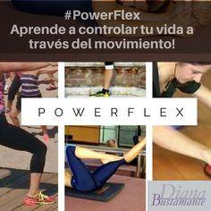"""#PowerFlex """"Aprende a controlar tu vida a través del movimiento"""" #abrilmesdelasalud www.diana-bustamante.com.ar"""