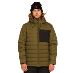 Billabong, Journey, Division, Puffer Jackets, Winter Jackets, Quilted Jacket, Winter Wear, Tights, Military