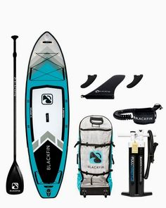 The BLACKFIN Model V, iSUP is our signature touring board designed for long distance paddling & performs great on calm to moderate water conditions & is suitable for most skill levels. Inflatable Paddle Board, Inflatable Sup, Sup Girl, Sup Stand Up Paddle, Kayak Paddle, Sup Boards, Sup Yoga, Standup Paddle Board, Kayak Camping