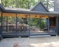 Covered Breezeway Design - make breezeway wide enough for furniture to fit
