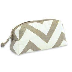 Cosmetic Bag - Chevron